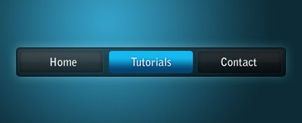 blue-on-black-menu-photoshop-navigation-tutorial