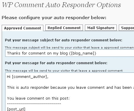 comment-auto-responder