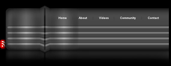 metallic-header-photoshop-navigation-tutorial