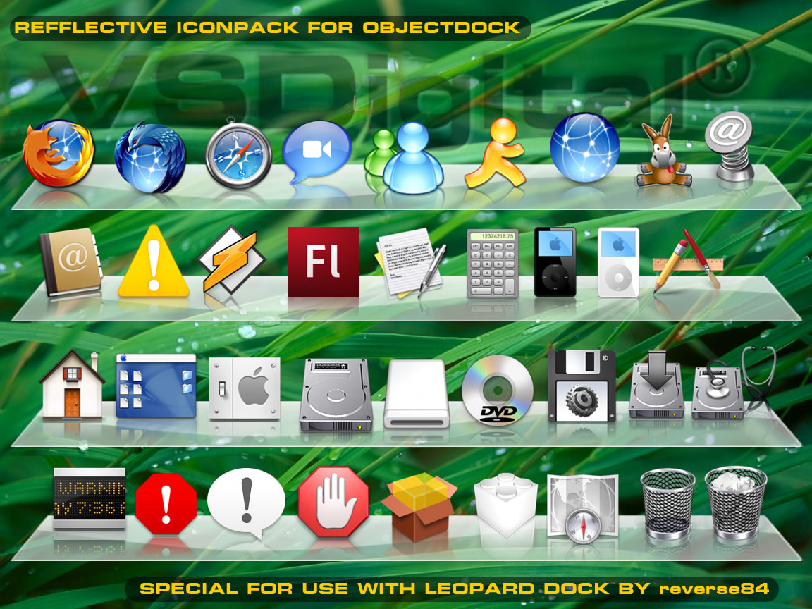 OSX_Refflective_Iconset_1_by_vsdigital