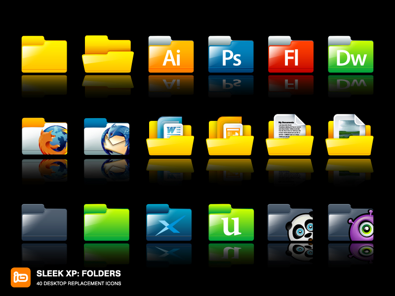 Sleek_XP__Folders_by_deleket