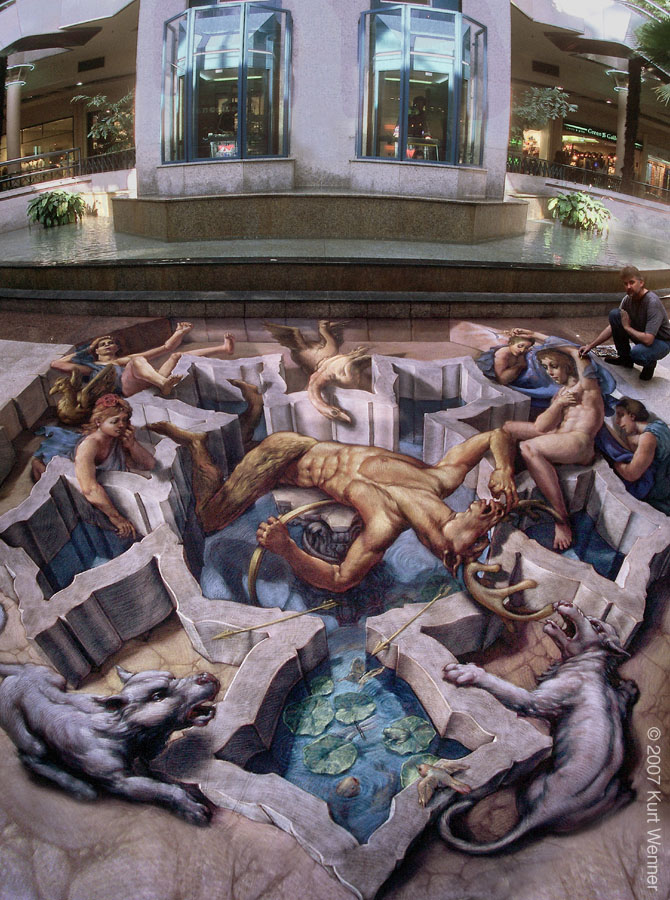 Kurt Wenner for such a street artThanks Kurt for opening our eyes wide
