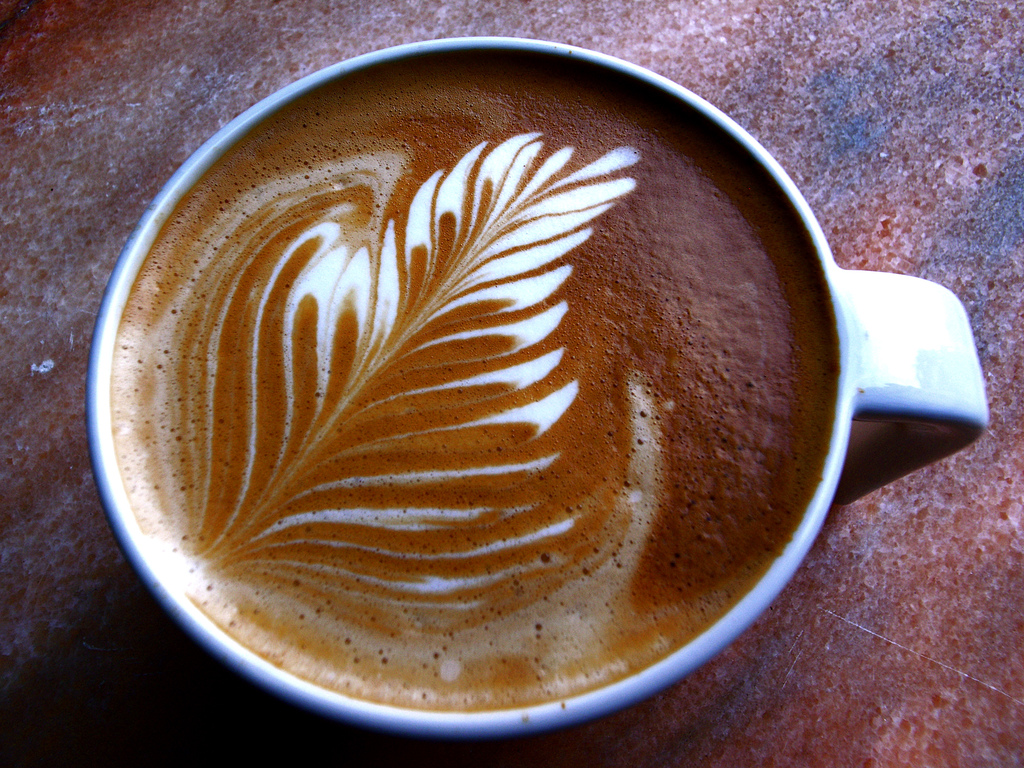 Latte Art Designs : Mind blowing latte art designs designbeep