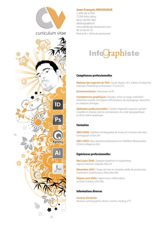 54 Impressive and Well-Designed Resume Examples For Inspiration