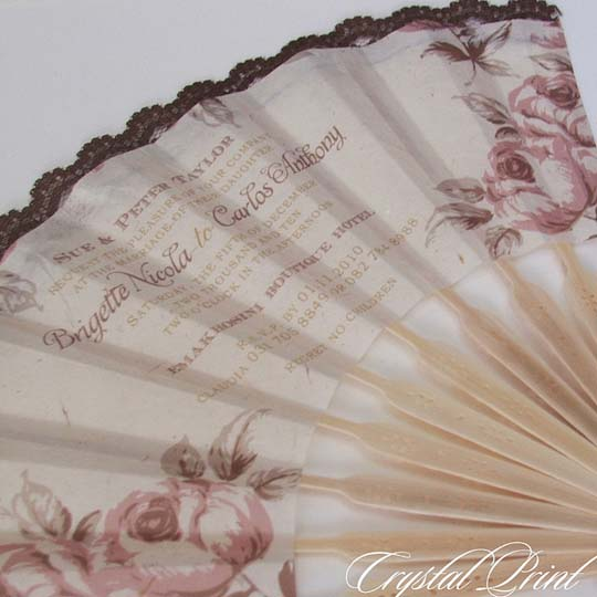 It also comes with an RSVP card and envelope Creative Wedding Invitations