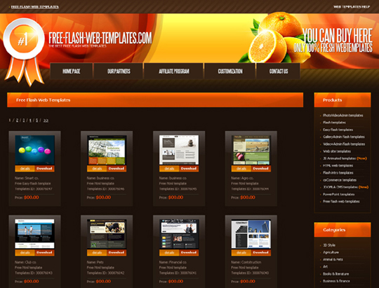 20 places to download free website templates and free for Website layout design software free download
