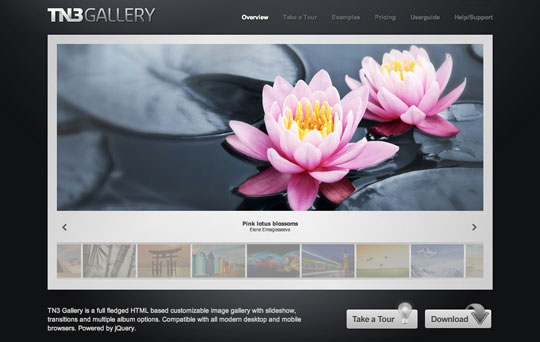 mobile image gallery jquery. More Image Sliders and Galleries With jQuery