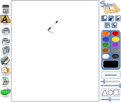 fr33dom free online tools for drawing painting and sketching