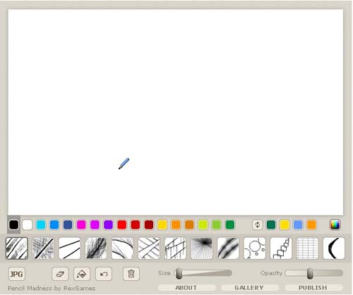 Fr33dom free online tools for drawing painting and sketching Online design tool