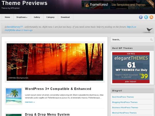 18.free wordpress themes        ( )