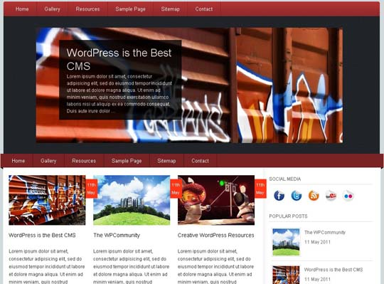 27.free wordpress themes        ( )