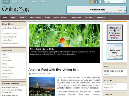 29.free wordpress themes        ( )