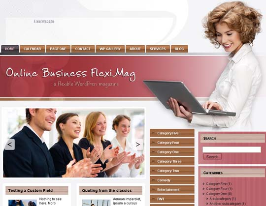 3.free wordpress themes        ( )