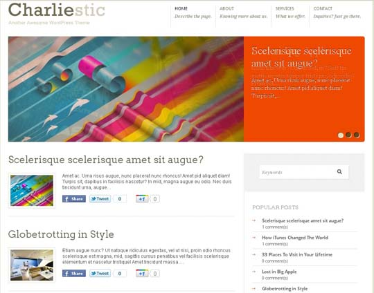 33.free wordpress themes        ( )