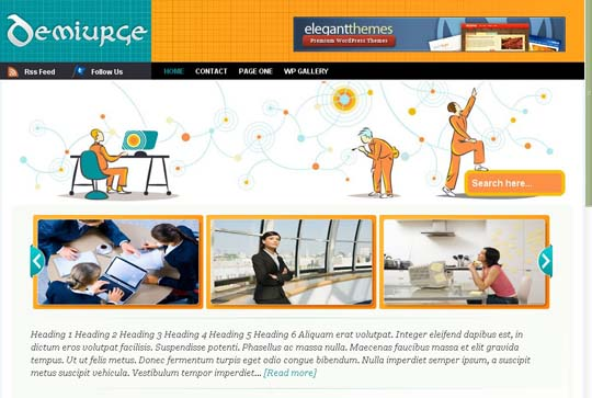 4.free wordpress themes        ( )