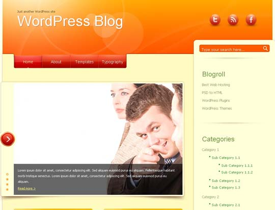 42.free wordpress themes        ( )