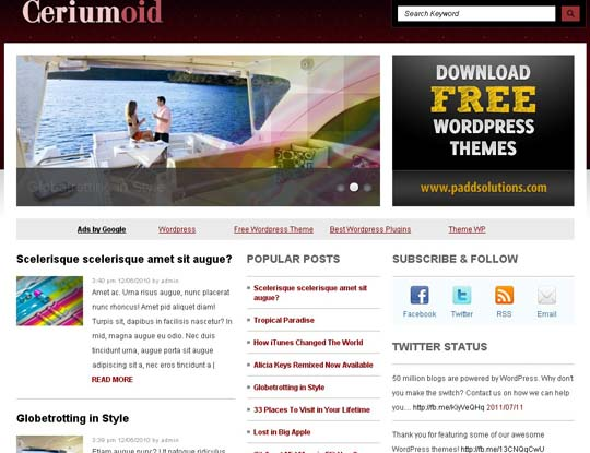 48.free wordpress themes        ( )