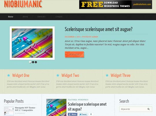 50.free wordpress themes        ( )
