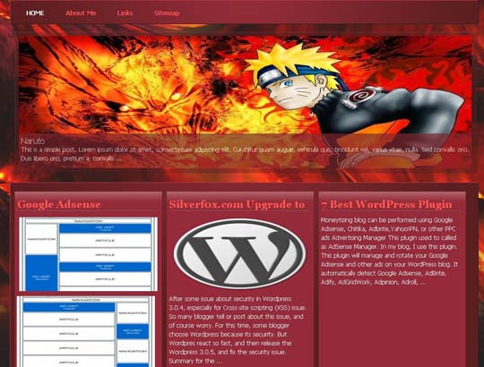 8.free wordpress themes        ( )