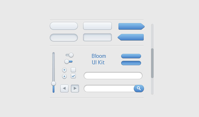 psd ui web elements