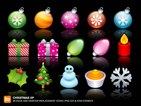 free christmas icons