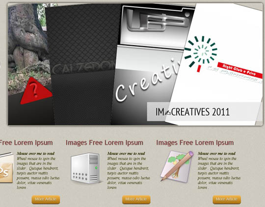 free HTML5 website templates