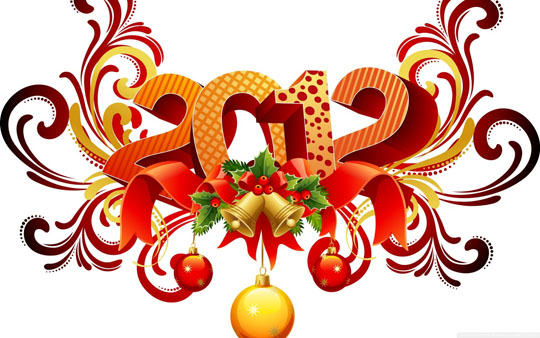 2012 new year wallpapers