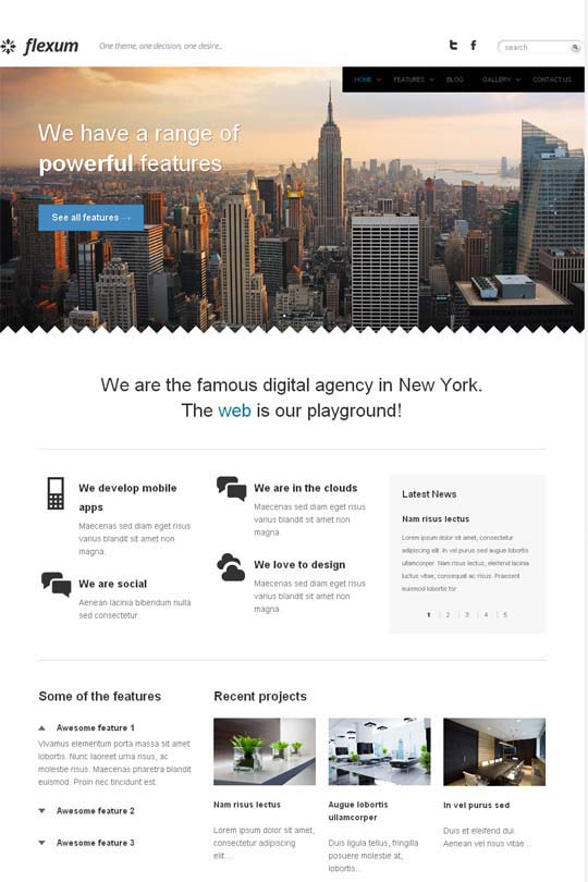 responsive wordpress themes