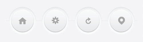 Crafting Minimal Circular 3D Buttons with CSS
