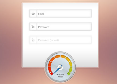 Create a Beautiful Password Strength Meter
