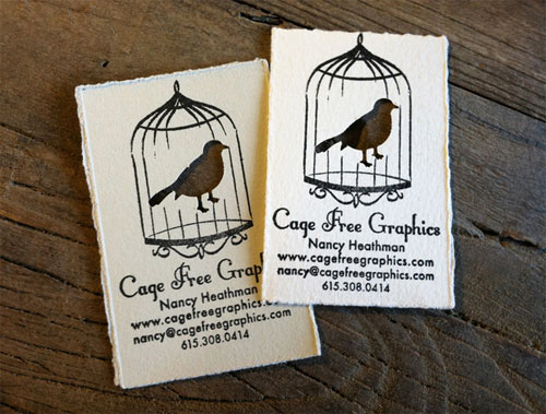 handmade business cards