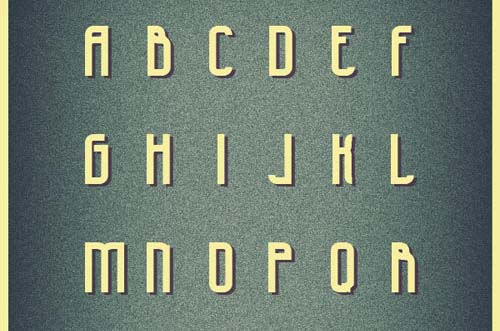 Free Typeface