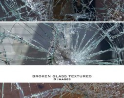 1.broken glass textures