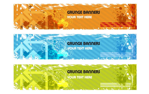 free vector banners