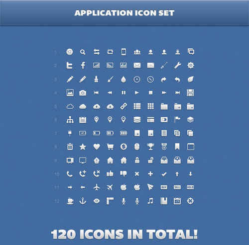 A Fresh Collection Of Pixel Perfect Icons For Your Web Or