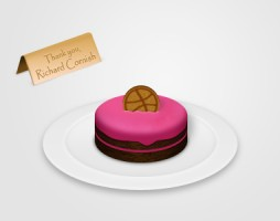 45.dribbble invitation