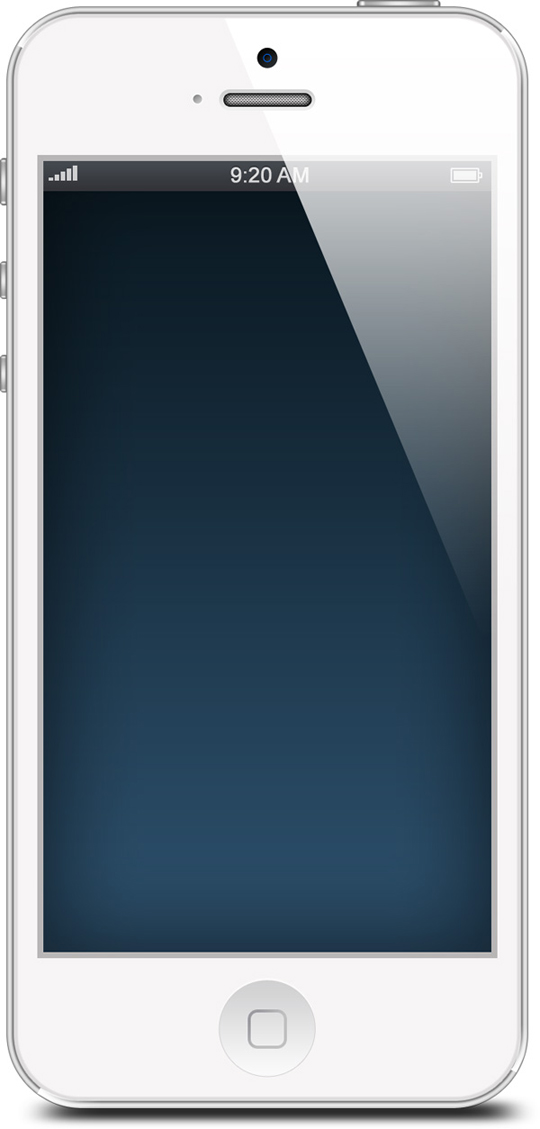 the gallery for gt white iphone 5 template