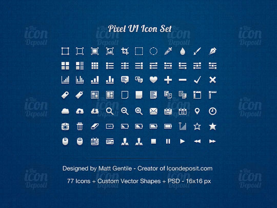 13.free pixel perfect icons
