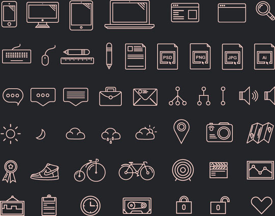 14.free pixel perfect icons