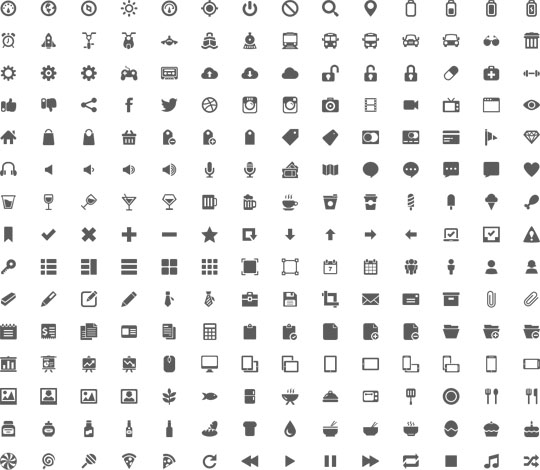16.free pixel perfect icons