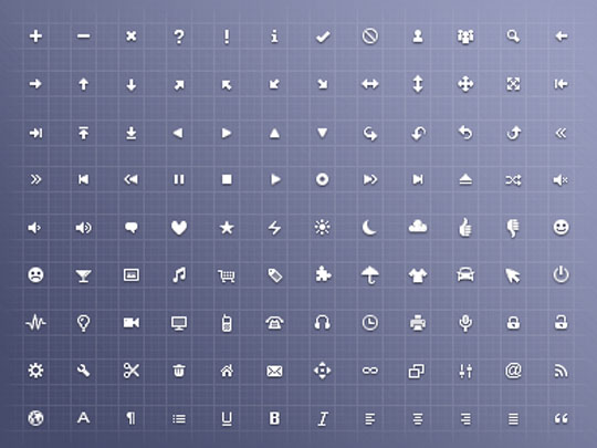 23.free pixel perfect icons