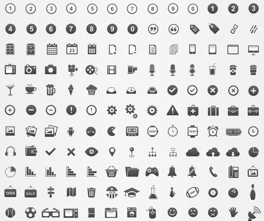 24.free pixel perfect icons