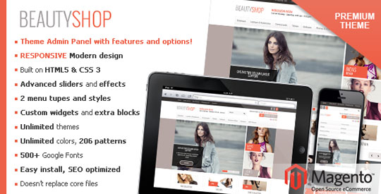 responsive magento themes