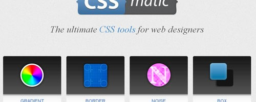 tools for web designers and developers