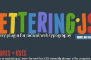 typography jquery plugins