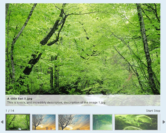 28.jquery image and content slider plugin