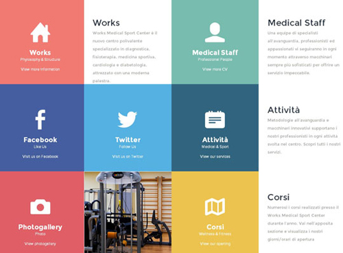 COLOR BLOCKING in web design