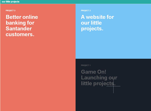 2.COLOR BLOCKING in web design