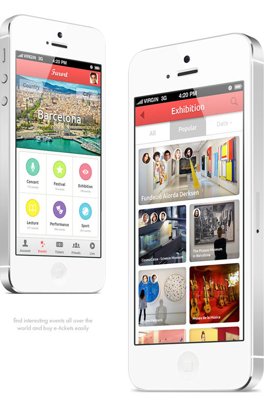 45 must see mobile app designs for inspiration designbeep