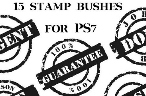 stamp brushes